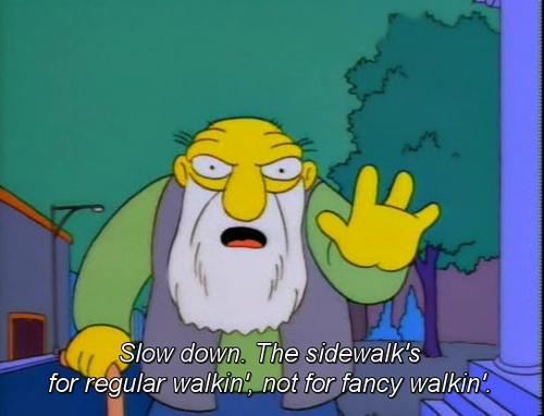 SimpsonsQuoteSidewalk